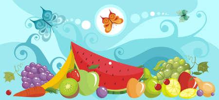 fruits Stock Vector - 5804717
