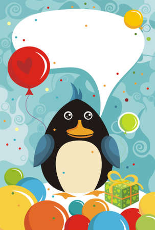 fest: penguin Illustration