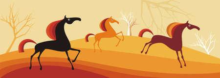horses Stock Vector - 5716441