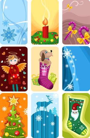 galletitas: tarjeta de Navidad