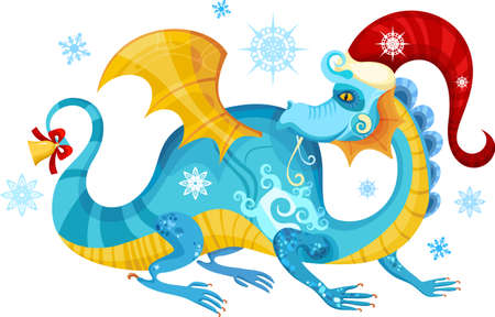 christmas dragon: dragon