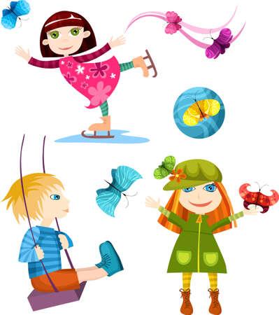 children set Vector