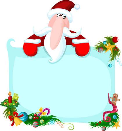 snowflacke: santa