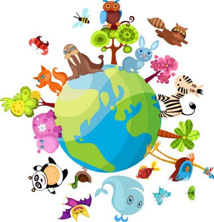 animals together: animal planet