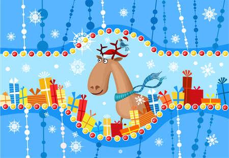christmas card Stock Vector - 6049527