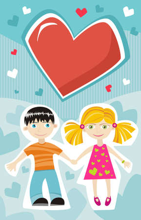 teenagers only: Valentine card