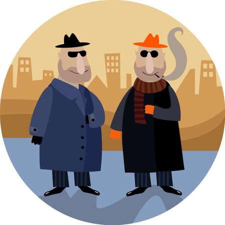 organized crime: gangster