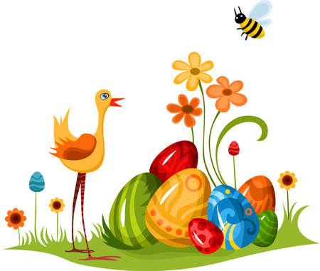 joyous: Easter  Vectores