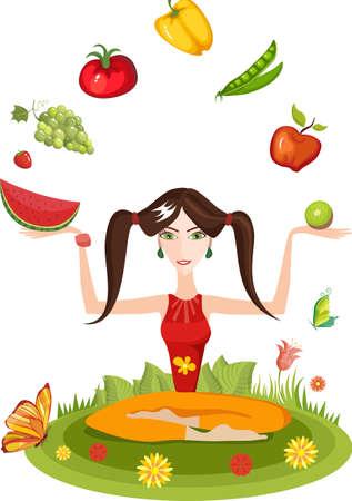 pesantezza: stile di vita sano