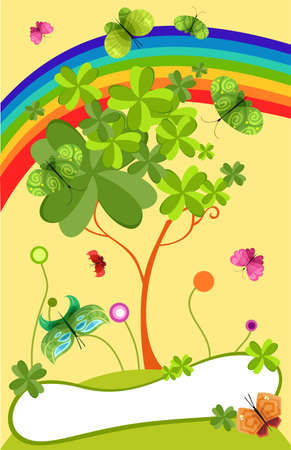 St. Patricks Day card Vector