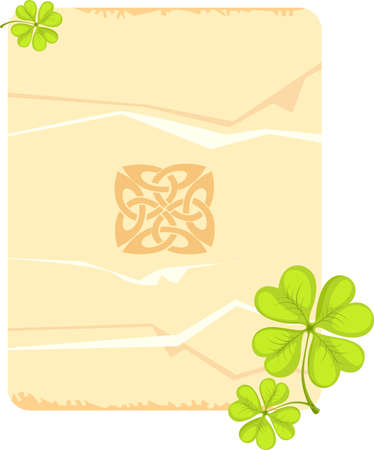 st.patricks day card Vector