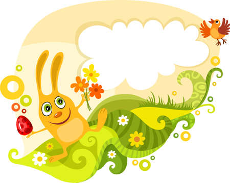 easter card Stock Vector - 6501576
