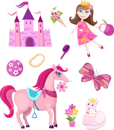 fairy-tale set Vector