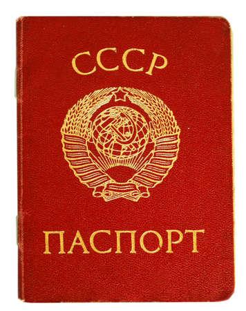 soviet union passport photo