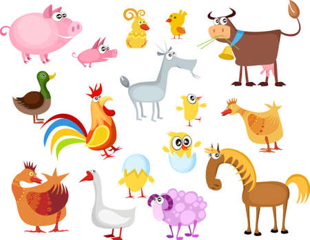 animal set Stock Vector - 6760169