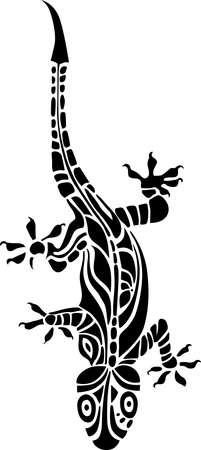 lagartijas: lagarto  Vectores