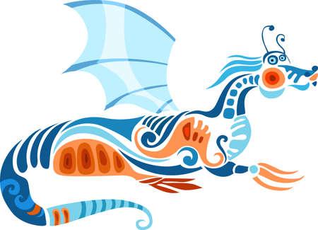 creature of fantasy: dragon