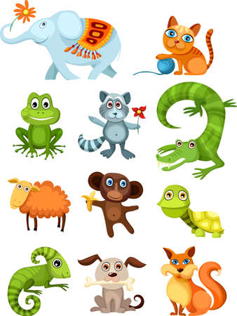 chameleon:  animal set