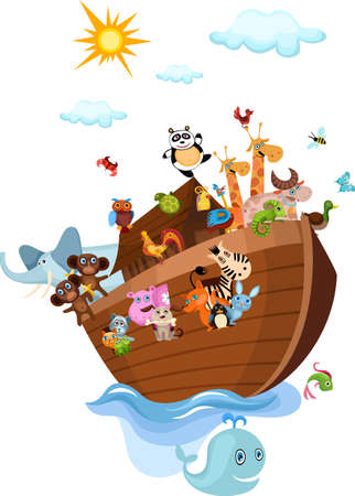 noah:  Ark Illustration