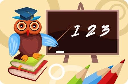 tutor: tarjeta de escuela