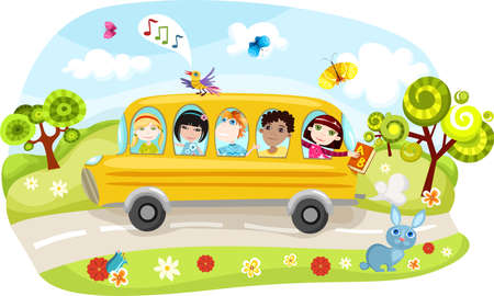 school bus Stock Vector - 7230910