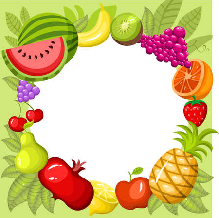 pomegranate juice: fruit card