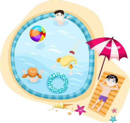 swimming pool Stock Vector - 7360190