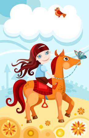 beautiful horse: princess