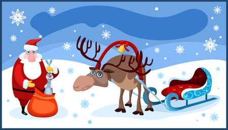 christmas card Stock Vector - 7611424