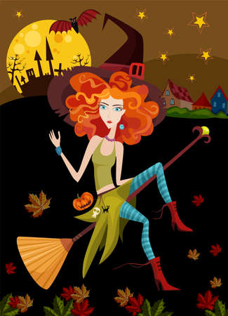 halloween party: heks