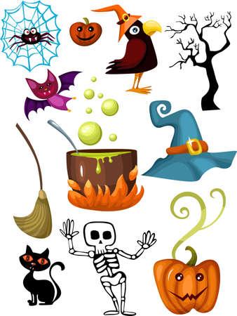 pocion: conjunto de Halloween
