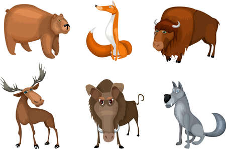 animal set Stock Vector - 7950482