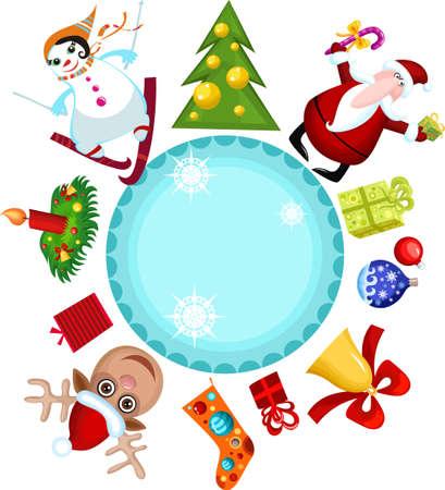 christmas card Stock Vector - 8122745