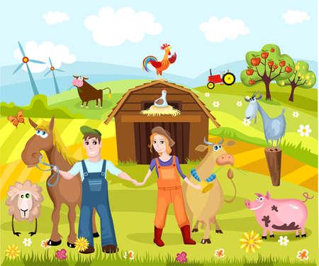 animal cock: azienda agricola