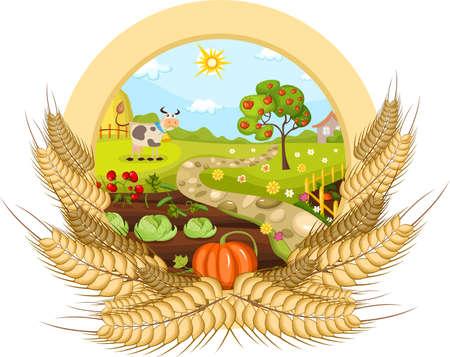 farmland: farm card