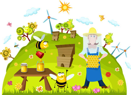 beekeeping: farm card
