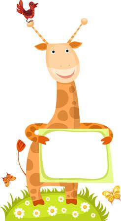 giraffa: jirafa Vectores