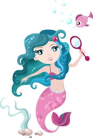 mermaid Stock Vector - 9057519