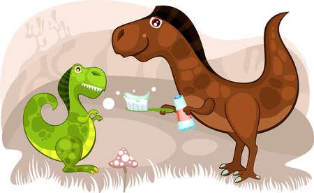 dinosaur Stock Vector - 9061880