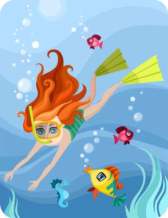 undine: diver
