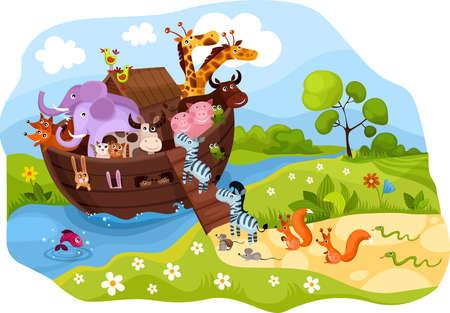 Noah's Ark Stock Vector - 9398152