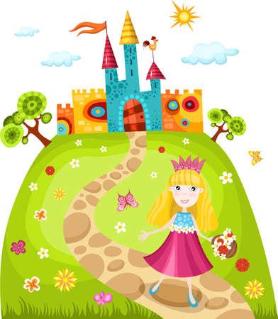 purse: princess