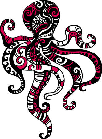 octopus: Pulpo Vectores