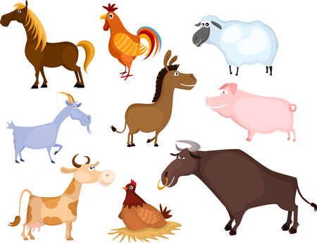 geit: boerderij dieren set