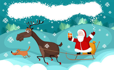 christmas card Stock Vector - 11098984