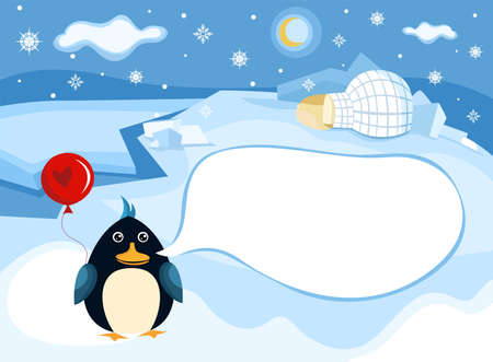 north pole background Stock Vector - 11098985