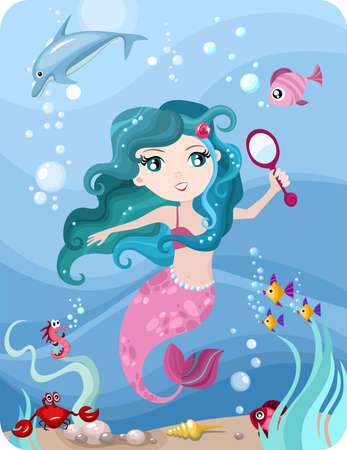 mermaid Stock Vector - 11451213