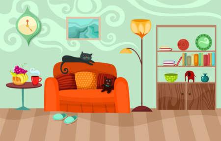 cozy: room