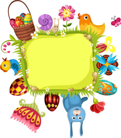 easter card Stock Vector - 12092729