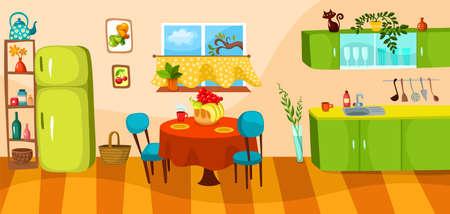 kuchnia Ilustracje wektorowe